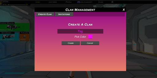 repuls free first person shooter io game create clan screenshot